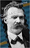 Considérations inactuelles - Format Kindle - 2,20 €