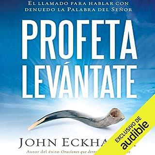 Profeta levántate [Prophet Arise] audiobook cover art