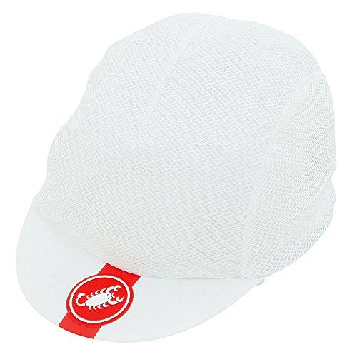 castelli A/C Cycling, Cappellino Unisex – Adulto, White, Taglia Unica