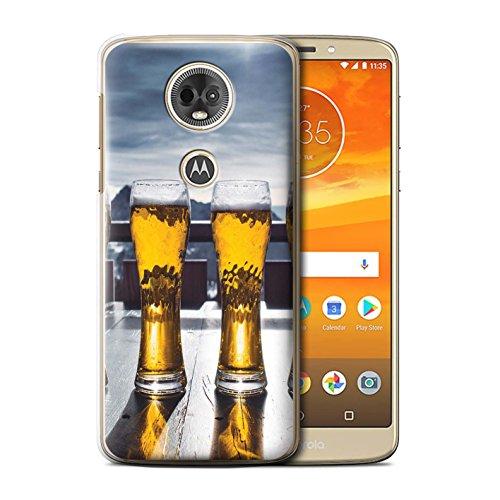 Stuff4 Phone Case/Cover/Skin/Motorcycle CC/Skiing/Snowboard-collectie Motorola Moto E5 Plus 2018 Chalet Ski/Bière