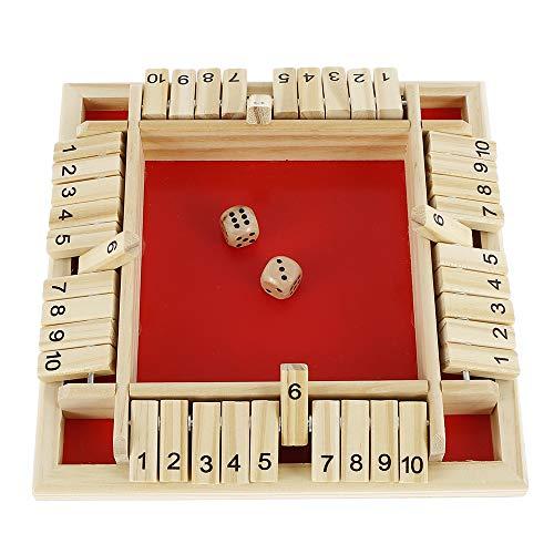 Beenle-Icey Juego de mesa de juegos de madera, 4 jugadores, Shut The...