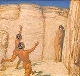 Kunst für Alle Impresión artística/Póster: Franz Von Stuck Wettlauf - Impresión, Foto, póster artístico, 100x95 cm