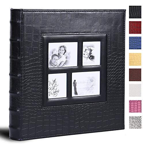 Vienrose Fotoalbum für 600 4x6 Fotos Ledereinband extra großes Fassungsvermögen für Familie Hochzeit Jahrestag Baby Urlaub