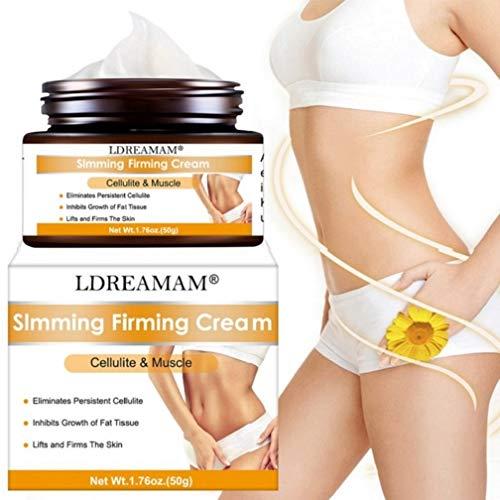 puissant Crème anti-cellulite, crème minceur, crème minceur, crème raffermissante ventre, cuisses…