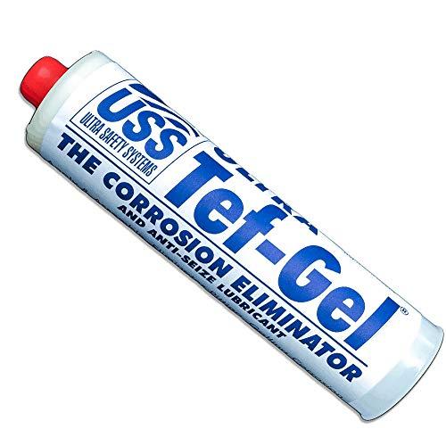 TEF-GEL smeermiddel, corrosiebestendig, verzinkt, cartridge van 340 g (12 oz).