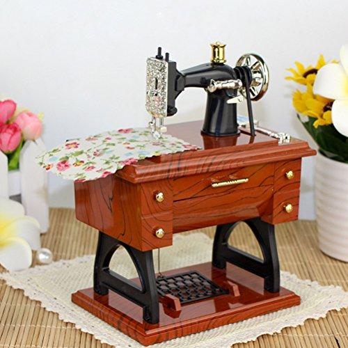 VORCOOL Regalo de la Caja de Música de la Máquina de Coser para Niños Adultos