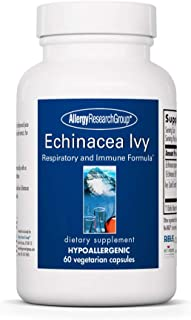 Allergy Research Group Echinacea Ivy 60 Vegetarian Capsules