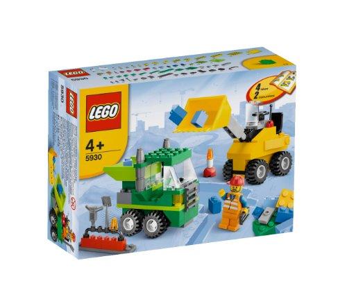 LEGO Stenar & Co. 5930 – byggstenar vägkonstruktion