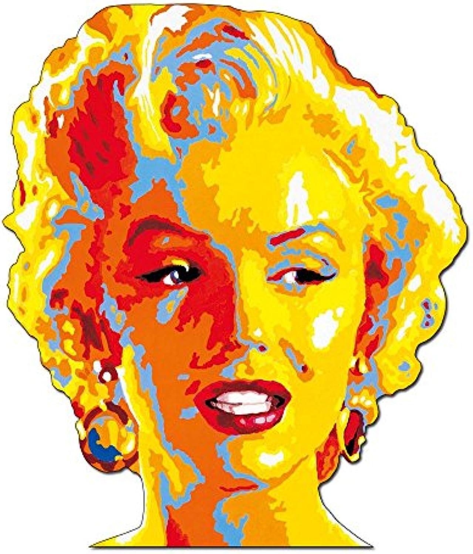 Artopweb Gorsky Marilyn Monroe Decorative Panel, MDF (Mitteldichte Holzfaserplatte), Papier, Bunt