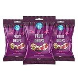Marca Amazon - Happy Belly - Caramelos con sabor a fruta, 3x500g...