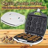 Waffle Maker Fabricante de tuerca tuerca waflera de hierro hace antiadherente Placas fabricante de pasteles de la galleta del panadero de la hornada de hierro de la máquina de la galleta para Waffles