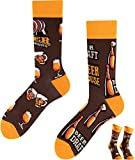 TODO Colours Lustige Socken mit Motiv - Mehrfarbige, Bunte, Verrückte für die Lebensfreude (Bierhaus Socken, numeric_39)