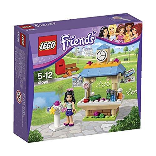Lego Friends - 41098 - Jeu De Construction - Le Kiosque D'emma