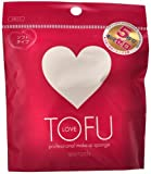 TOFU LOVE プロフェッショナル メイクアップ スポンジ 2個