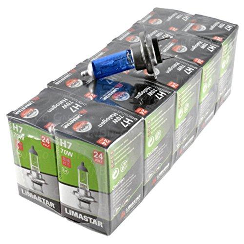 10x H770W 24V Camiones NFZ halógena Lámpara, bombillas incandescentes Bombillas Lámpara Vehículos Xenon EFECTO 6