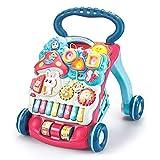 KAILUN Primeros Pasos Bebé Actividad Andadores, Patrón Múltiple, Sentar & Jugar, Música Piano, Estar & Caminar, Juguete De Aprendizaje, Desarrollo De Inteligencia