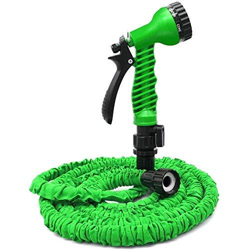 Shumo manguera de jardín expansible, manguera de agua flexible de 50 pies para regar plantas, lavado de coches, mascotas y limpieza verde