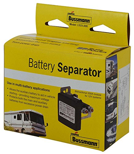 Bussmann (RB-BS-1315) Separador de batería bidireccional de 100 amperios