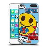 Official emoji Super Dad Celebration Cases Soft Gel Case Compatible for Apple iPod Touch 5G 5th Gen