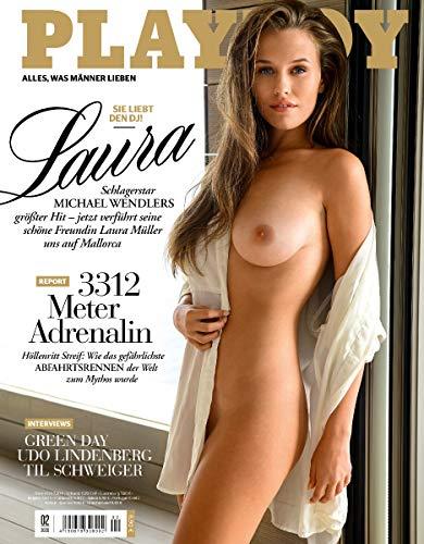 Playboy 02/2020 Wendler Freundin LAURA MÜLLER