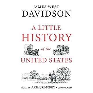 A Little History of the United States audiobook cover art