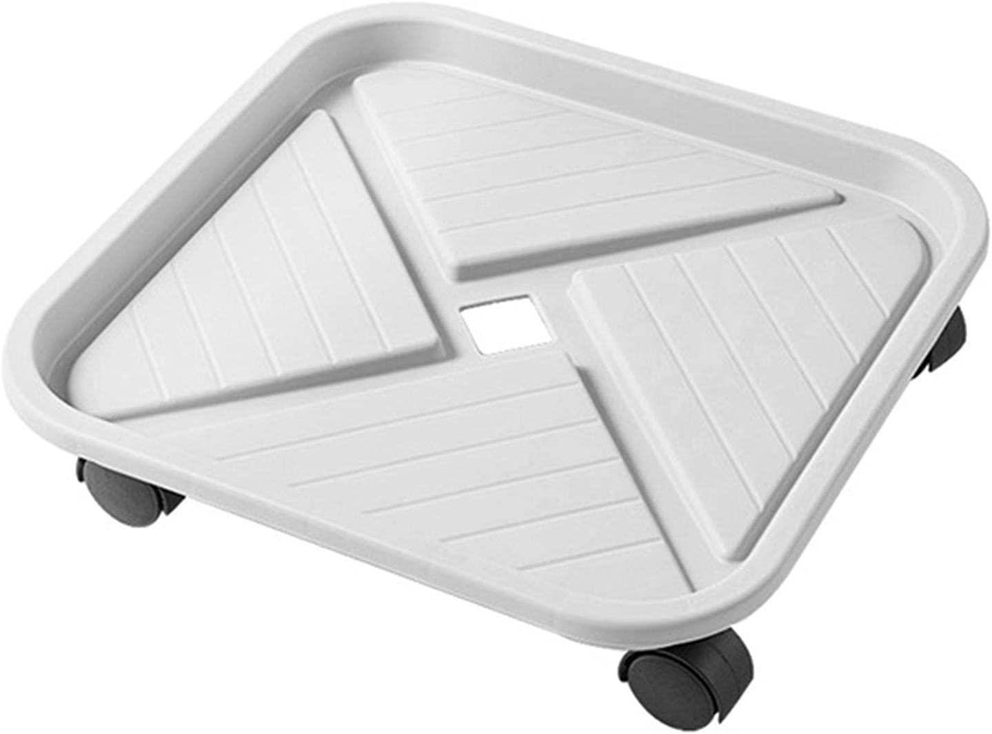 Tlymopukt Sale SALE% OFF Planter Caddy Square Plastic 4 Saucer with 100% quality warranty! W Universal