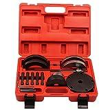 mctech Cilindro de almacenamiento Herramientas de desmontaje de rueda Cambio de rodamientos Buje Coche Herramientas Extractor 85mm
