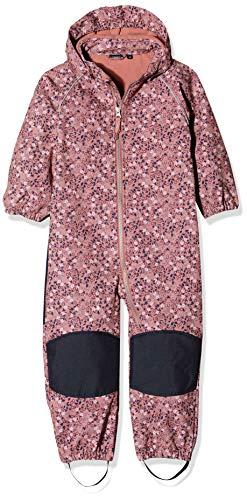 NAME IT Baby-Mädchen NMFALFA Suit SMALL Flower 1FO Schneeanzug, Mehrfarbig (Dusty Rose Dusty Rose), (Herstellergröße: 86)