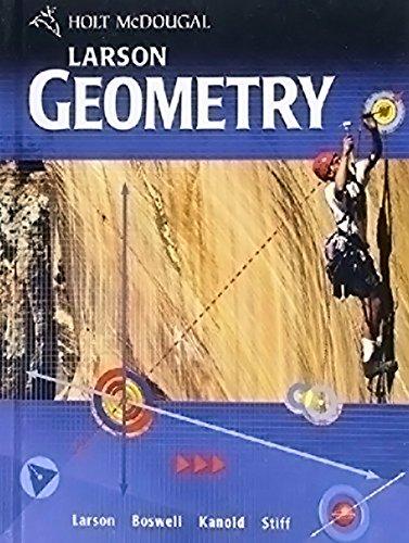 McDougal Littell High School Math: Exercises in Spanish Geometry