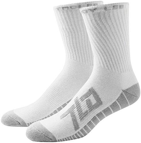 Troy Lee Designs Factory Crew Socken, Weiß, 9–12 Jahre, 3 Stück