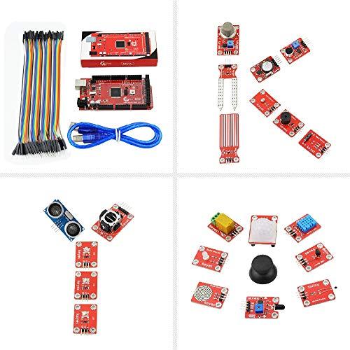 Módulo electrónico Kit De Sensor De Bloque De Construcción Electrónico con Mega 2560 R3 For A-r-d-u-i-n-o
