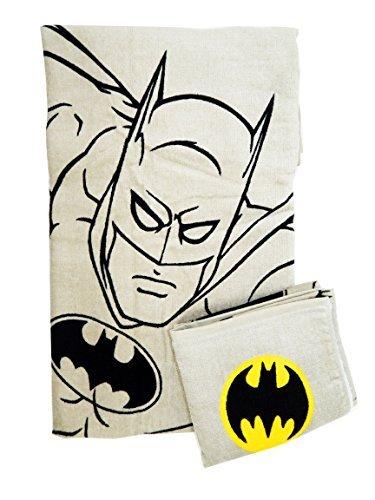 Batman Bath and Hand Towel Set (2 Pieces)