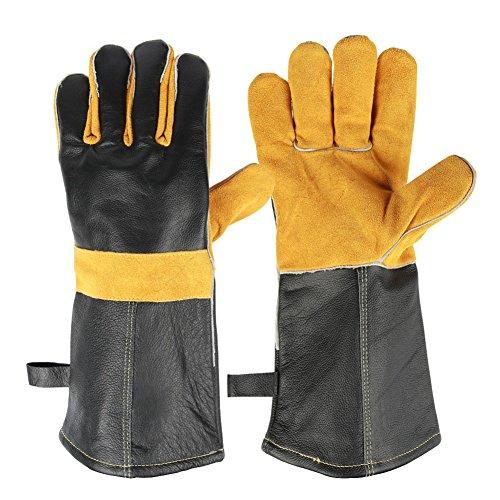 HDTLJXX Anti-Heiße Handschuhe Mikrowelle Isolierung Auflauf Ofen Universal, Küche Draussen Schutz Hohe Temperaturbeständigkeit