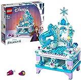 LEGO Disney Princess - Joyero Creativo de Elsa, Set de construcción...
