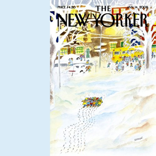 The New Yorker (January 14, 2008) audiobook cover art