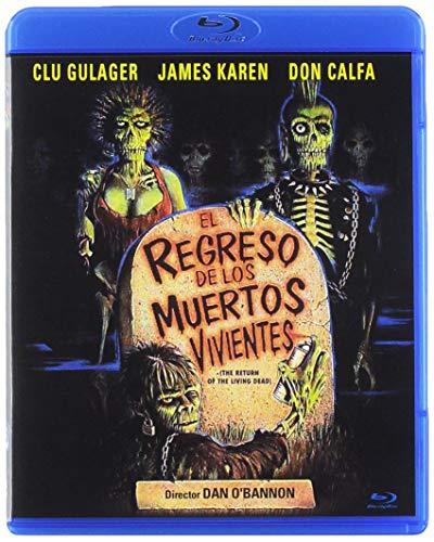 El Regreso de los Muertos Vivientes BD 1985 The Return of the Living Dead [Blu-ray]