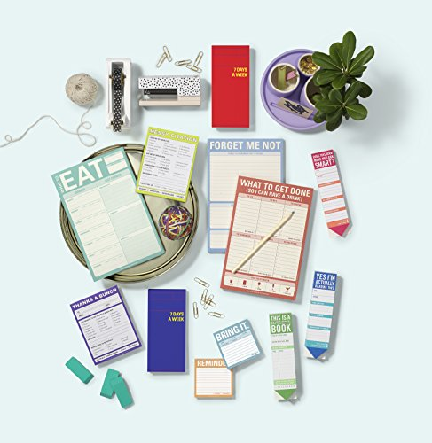 Knock Knock What to Get Do (So I Can Have a Drink) Pad, To Do List Note Pad, 6 x 9-inches Photo #2