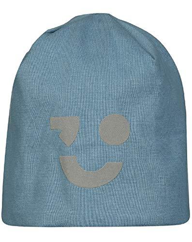 NAME IT Jungen Jersey-Mütze Gr.51-55 Beanie blau Übergangsmütze neu!, Größe:51/52