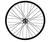 Rodi - Ruedas de Bicicleta para Adulto, Unisex, Color Negro, 26 Pulgadas