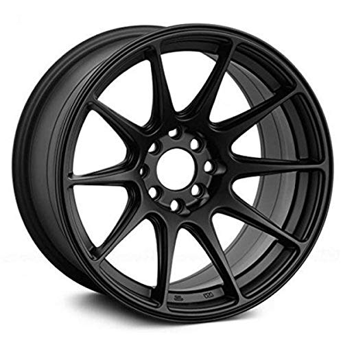 XXR 527 Flat Black Wheel with Painted (17 x 8.25 inches /5 x 100 mm, 25 mm Offset)