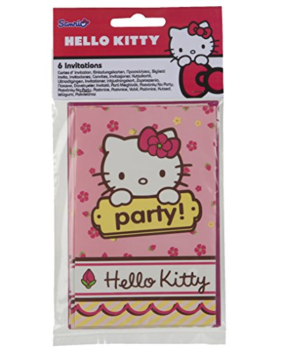 Color Baby – Hello Kitty Pack avec 6 Invitations (71799.0)