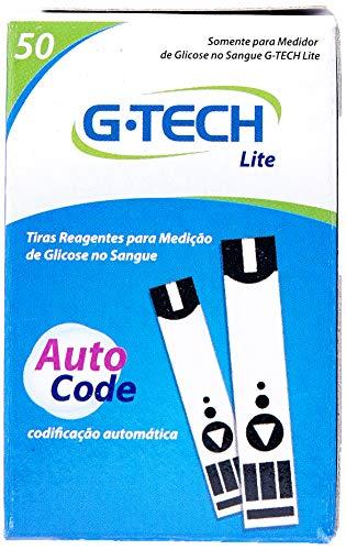 Tiras Reagentes G-Tech Lite (Caixa com 50 Unidades), G-Tech