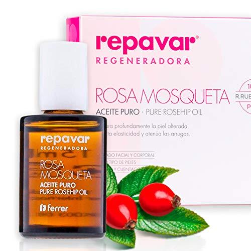 Repavar Regeneradora: Aceite 100  Puro Rosa