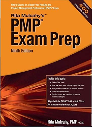 PMP Book 9th Edition by Rita M: PMP Exam Preparation Guide (English Edition)