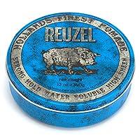 Reuzel Blue Pomade (Strong Hold, Water Soluble) 340g/12oz並行輸入品