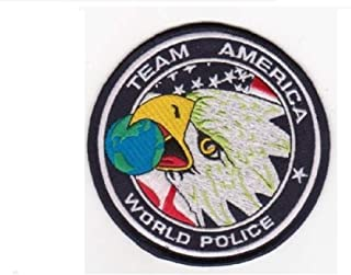 Team America World Police Patch OIF OEF ODA SF ACU CTU Counter Terrorist Patch Hook Fastener