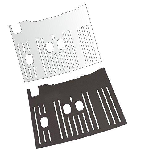 3 x Schutzfolie für DeLonghi Dinamica ECAM 350.55/350.75/352.55/370.85/370.95/370.85 SB - 370.95-370.95 - 353.75-376.95 376.95 Abtropfblech - Tassenablage