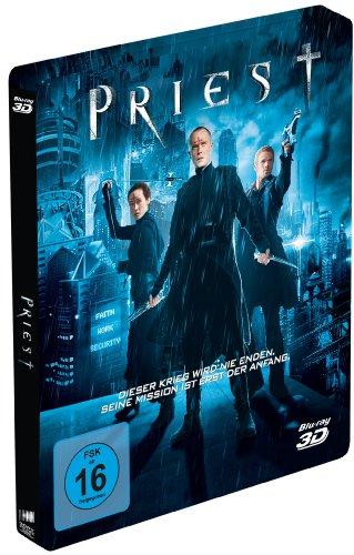 Priest (3D Version) Exclusive Blu-ray Edition im hochwertigen Steelbook