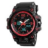 XFCS Men's Large Dial Digital Watch Waterproof Military Sport Watches...