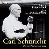 カール・シューリヒト   ウィーン・フィルハーモニー管弦楽団 / ブラームス : 交響曲第4番   レーガー : モーツァルトの主題による変奏曲とフーガ (Brahms: Sinfonie Nr.4, Reger: Variationen und Fuge uber ein Thema von Mozart / Carl Schuricht, Wiener Philharmoniker) [UHQCD] [国内プレス] [日本語帯解説付]